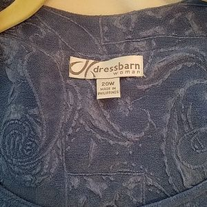 Dress Barn Dresses - NWOT  Dress Barn Long Dress w/Jacket attached